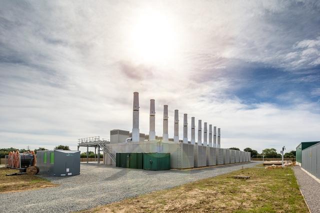 Creyke Beck Gas Power Plant Cottingham East Yorkshire